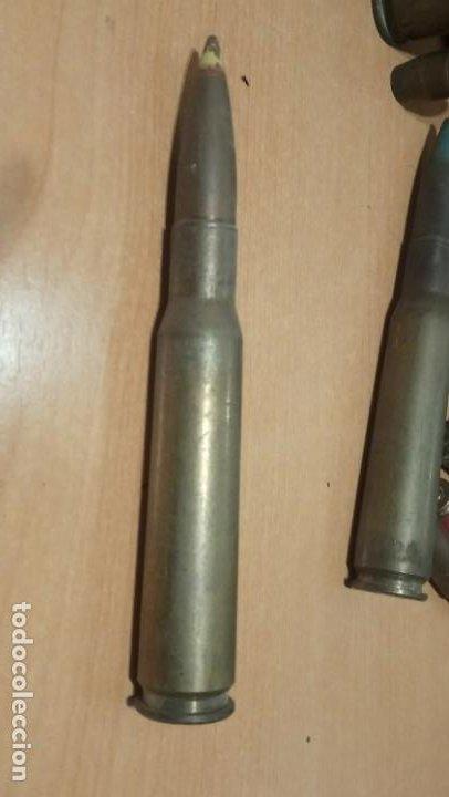 12'70X99 PINTURA AMARILLA INERTE (Militar - Cartuchería y Munición)