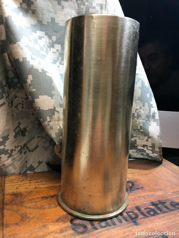 Militaria: VAINA DEL OBUS DE 65/17 ITALIANO COMUNMENTE LLAMADO 65MM TRITOLO. INERTE - Foto 5 - 224518981