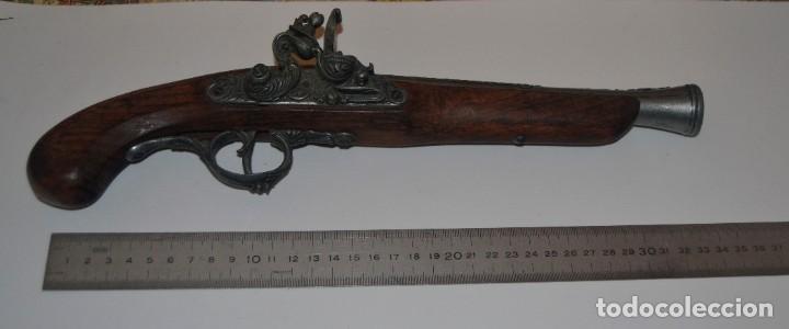 BONITA REPRODUCCIÓN DE PISTOLA DE CHISPA (Militar - Armas de Fuego de Avancarga y Complementos)