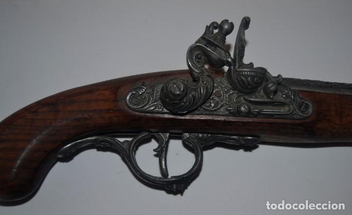 Militaria: Bonita reproducción de pistola de chispa - Foto 2 - 224569037