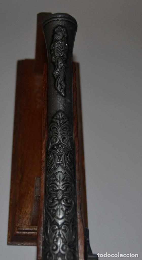 Militaria: Bonita reproducción de pistola de chispa - Foto 3 - 224569037