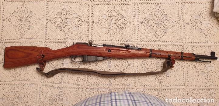 VENTA RIFLE - FUSIL MOSIN NAGANT (Militar - Armas de Fuego en Uso)