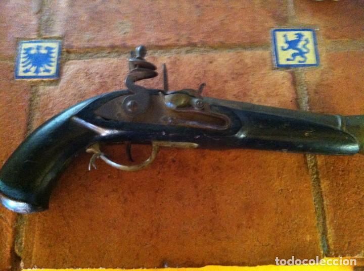 TRABUCO O PISTOLON DE CHISPA (Militar - Armas de Fuego de Avancarga y Complementos)
