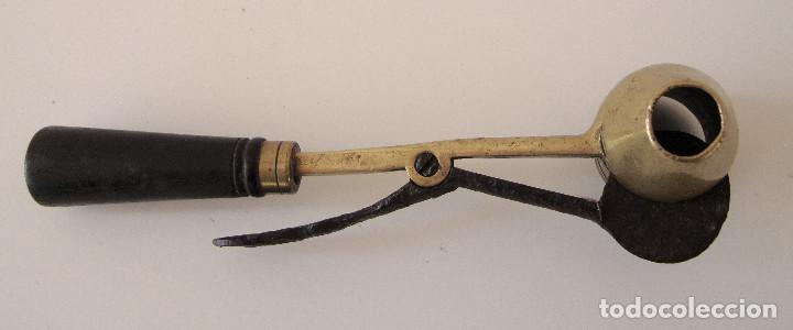 Militaria: Antiguo medidor de pólvora. Bastante raro - Foto 3 - 227842510