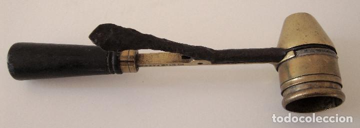 Militaria: Antiguo medidor de pólvora. Bastante raro - Foto 4 - 227842510