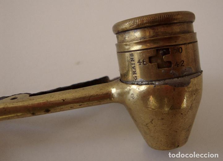 Militaria: Antiguo medidor de pólvora. Bastante raro - Foto 6 - 227842510