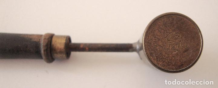Militaria: Antiguo medidor de pólvora - Foto 6 - 227842825