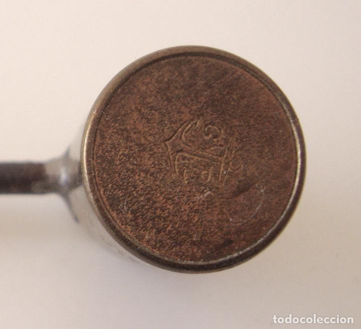 Militaria: Antiguo medidor de pólvora - Foto 7 - 227842825