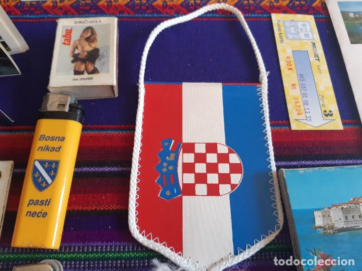 Militaria: GUERRA DE BOSNIA 1992, CAJA MUNICIÓN, GORRA E INSIGNIAS EJERCITO CROACIA, GORRA SERBIA Y MUCHO MÁS. - Foto 8 - 229860470