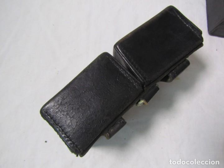 Militaria: Gran lote de cartucheras de cuero de la Guardia Civil - Foto 8 - 230607100