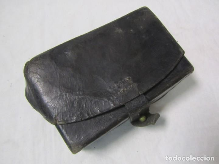 Militaria: Gran lote de cartucheras de cuero de la Guardia Civil - Foto 10 - 230607100