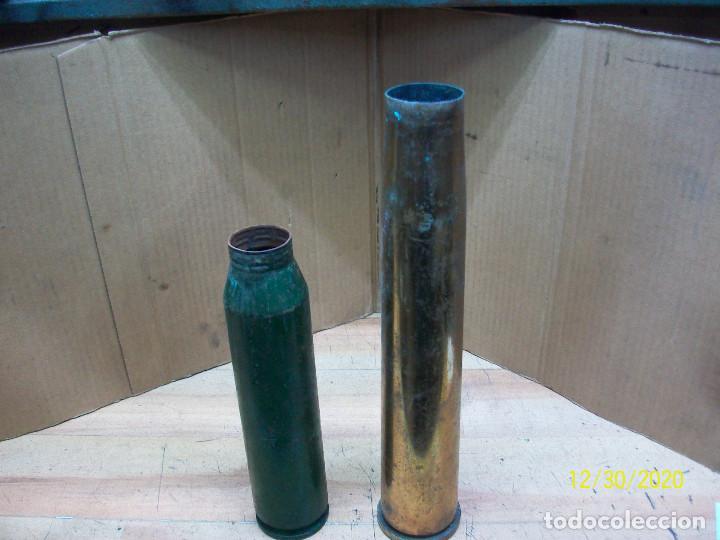 VAINAS DE 34 MM Y 40 MM- INERTES (Militar - Cartuchería y Munición)