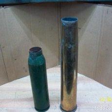 Militaria: VAINAS DE 34 MM Y 40 MM- INERTES. Lote 232495140