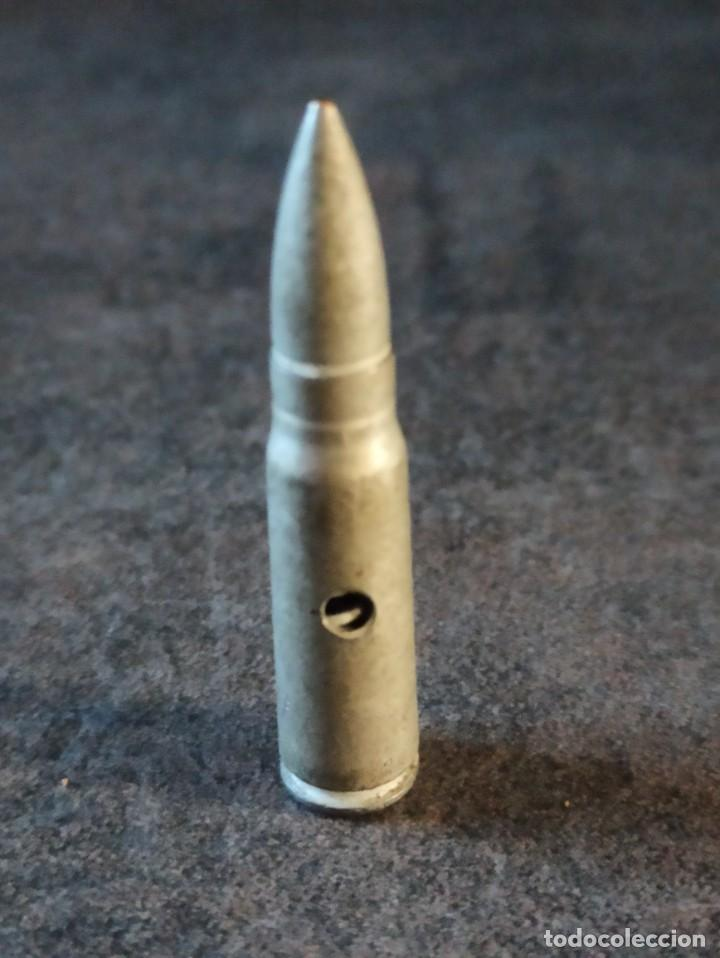 CARTUCHO DE INSTRUCCIÓN 7.62X39 AK 47 KALASHNIKOV MUY RARO INERTE (Militar - Cartuchería y Munición)
