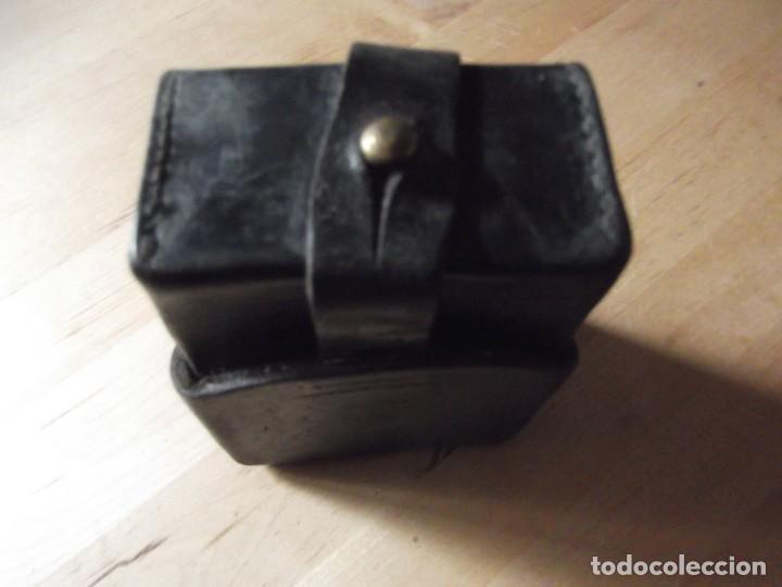 Militaria: cartuchera de piel - Foto 3 - 267509574