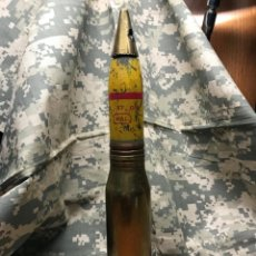 Militaria: DISPARO ANTIAEREO DE 30X170 HS 831 FRANCES ROMPEDOR . INERTE PINTURA Y MARCAJE ORIGINAL.. Lote 236031765