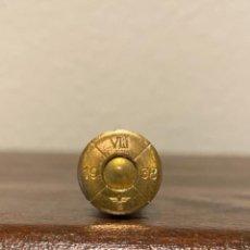 Militaria: CARTUCHO/BALA DE 8X 56 R MANLICHER NR.5. Lote 236033130