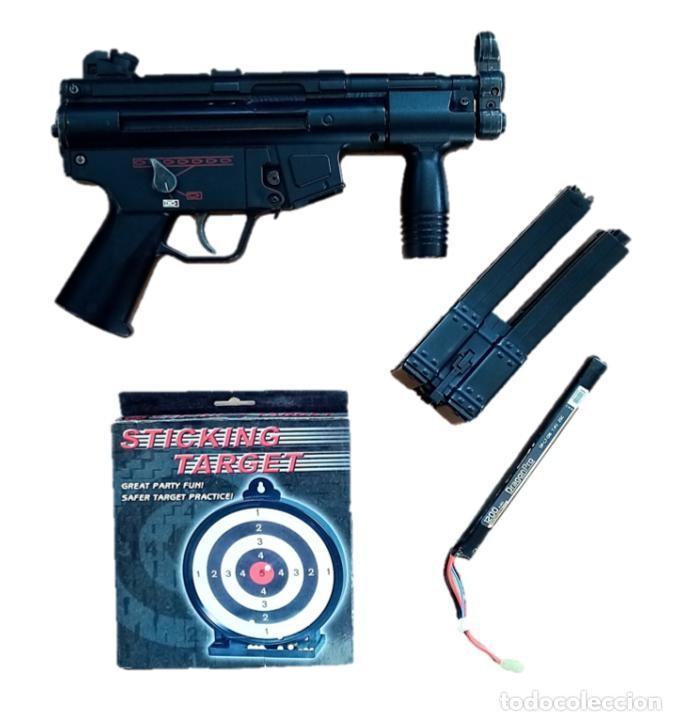 SUBFUSIL DE AIRSOFT ELÉCTRICO AEG G5K MP5 (Militar - Réplicas de Armas de Fuego y CO2 )