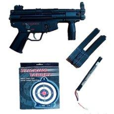 Militaria: SUBFUSIL DE AIRSOFT ELÉCTRICO AEG G5K MP5. Lote 236971680