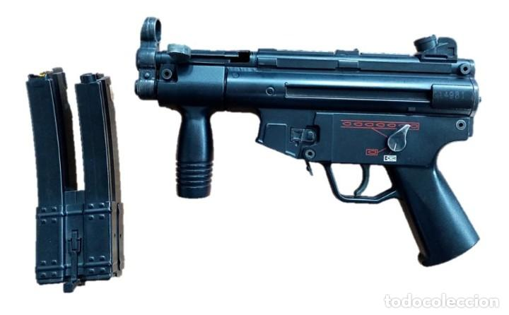 Militaria: SUBFUSIL DE AIRSOFT ELÉCTRICO AEG G5K MP5 - Foto 2 - 236971680