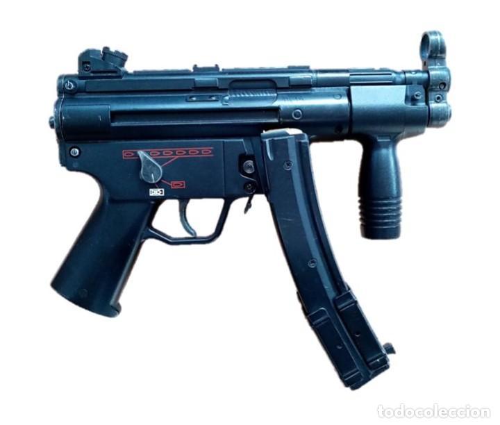 Militaria: SUBFUSIL DE AIRSOFT ELÉCTRICO AEG G5K MP5 - Foto 3 - 236971680