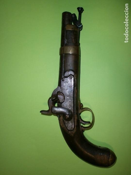 PISTOLA MILITAR ESPAÑOLA MODELO 1852 DE AVANCARGA. (Militar - Armas de Fuego de Avancarga y Complementos)