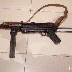 Militaria: SUBFUSIL MP 40 DE ALEMANIA NAZI HITLER DE SEGUNDA GUERRA MUNDIAL. Lote 238852285