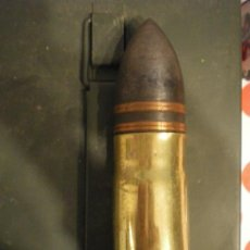 Militaria: GRANADA 37MM POMPOM PERFORANTE, GUERRA CIVIL, INERTE. Lote 239925400