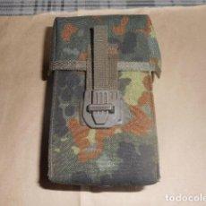 Militaria: CARTUCHERA PARA 2 CARGADORES ALEMANAS INERTES. Lote 241032365