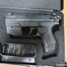 Militaria: WALTHER P22 - IMPECABLE CON MIRA LASER. Lote 242044900