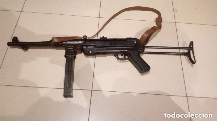 SUBFUSIL MP40 DE TERCER REICH DE ALEMANIA NAZI HITLER DE SEGUNDA GUERRA MUNDIAL (Militar - Réplicas de Armas de Fuego y CO2 )