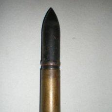 Militaria: CARTUCHO GRANADA 20MM MG FF, 1941, AVION ALEMAN, INERTE. Lote 243152670