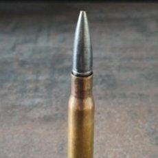 Militaria: CARTUCHO 12.70X99 ESPECIAL PARA FRANCOTIRADOR INERTE. Lote 244984055
