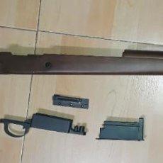 Militaria: CULATA COMPLETA MADERA Y CARGADOR MAUSER K98 G&G SEGUNDA GUERRA MUNDIAL. Lote 245075845
