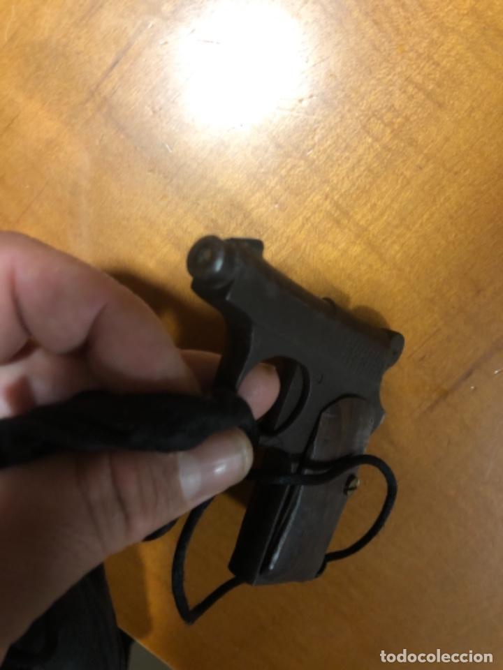 Militaria: Antigua pistola Espantaperros - Foto 8 - 146977749