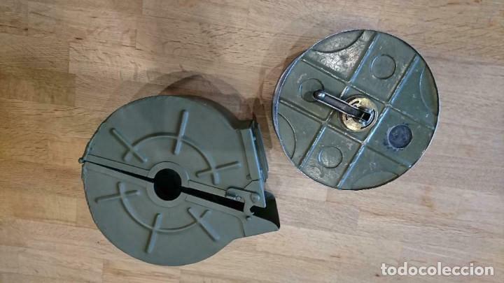 Militaria: Tambor para ametralladora Alfa 44 - Foto 6 - 246147490