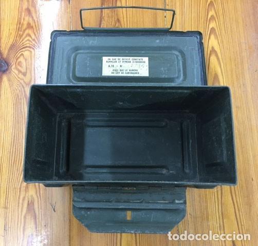 Militaria: Caja de munición - Foto 2 - 246495205