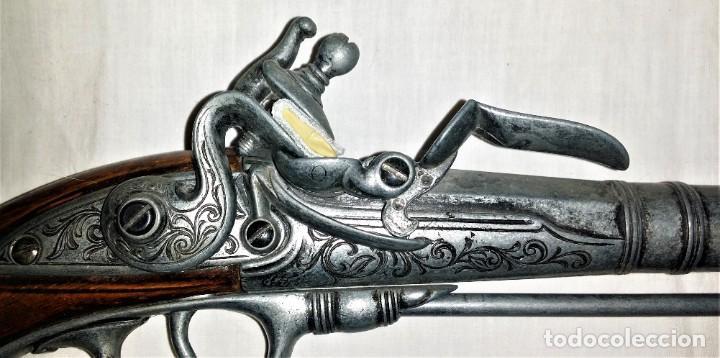 Militaria: Interesante réplica de pistola de duelo avancarga o pistola de chispa 39 cm. Envío gratis Península - Foto 5 - 252238515