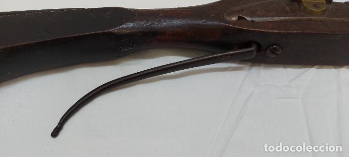 Militaria: Trabuco de chispa de llave de serpiente. - Foto 2 - 253003210
