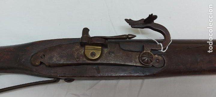 Militaria: Trabuco de chispa de llave de serpiente. - Foto 5 - 253003210