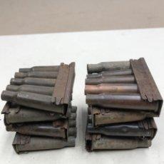 Militaria: PEINES CON CASQUILLOS MOSIN NAGANT, INERTES. Lote 254050560