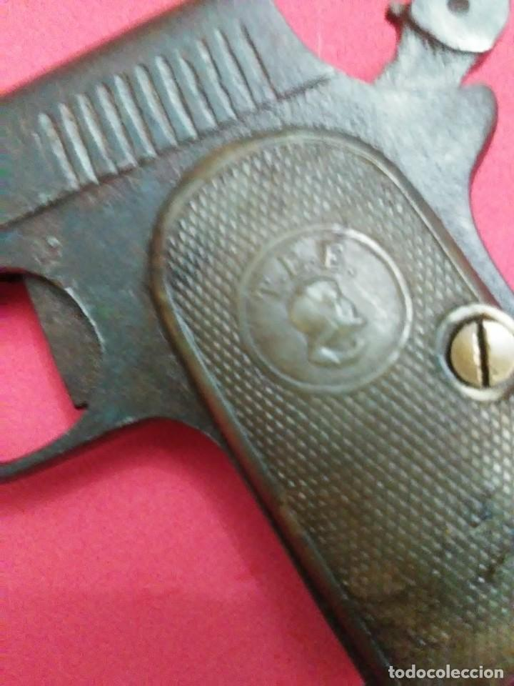 Militaria: Dos antiguas pistolas espantaperros - Foto 7 - 255332555