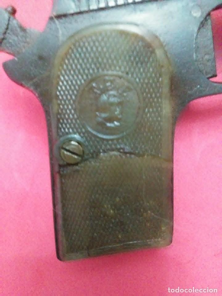 Militaria: Dos antiguas pistolas espantaperros - Foto 9 - 255332555