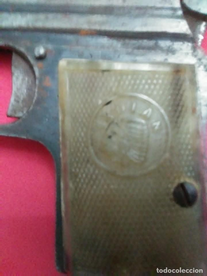 Militaria: Dos antiguas pistolas espantaperros - Foto 15 - 255332555