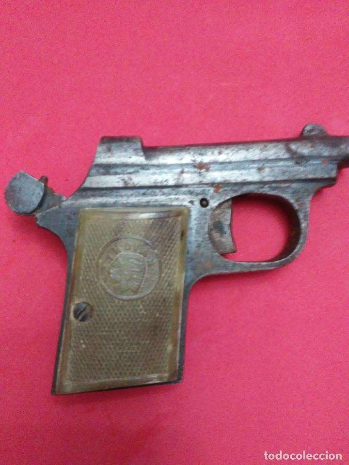 Militaria: Dos antiguas pistolas espantaperros - Foto 21 - 255332555
