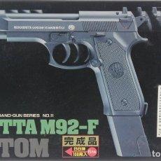 Militaria: MAQUETA PISTOLA DE BOLAS BERETTA M92-F, REF. Nº 11 - G-1200, 1/1, AOSHIMA. Lote 255571215