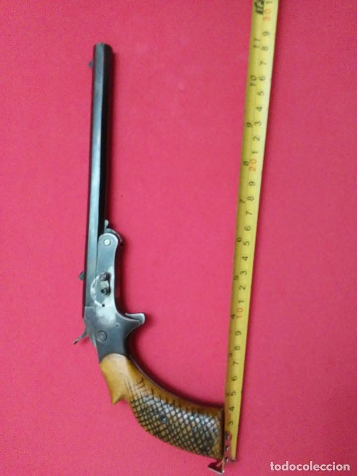 Militaria: Pistola de salon 6 mm flobert - Foto 25 - 257446115