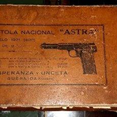 Militaria: PISTOLA MODELO ASTRA 400 CALIBRE 9MM LARGO AÑO DE 1921 ESPERANZA Y UNZETA (GUERNICA,VIZCAYA).. Lote 262144255