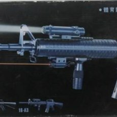 Militaria: M-16 A2, DE PLÁSTICO, WELL AIR PISTOL SERIES, ESCALA 1/1. Lote 262813060