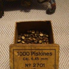 Militaria: AVANCARGA CAJA DE PISTONES. Lote 263750910